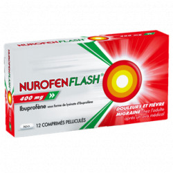 NurofenFlash 400mg comprimés pelliculés