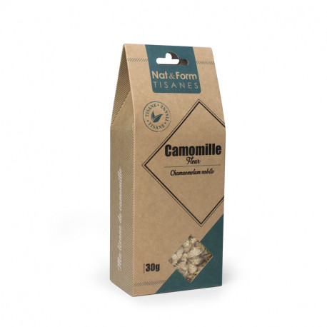 Camomille romaine fleurs 30g Nat&form