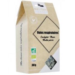 Tisane respiratoire 80g Nat&form