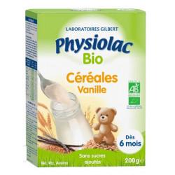 Physiolac Céréales Vanille  Bio  200g