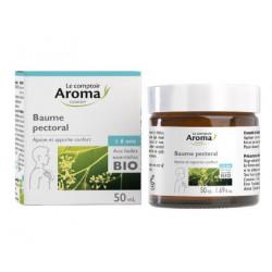 Baume pectoral  aux huiles essentielles Bio Comptoir Aroma