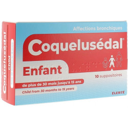 COQUELUSEDAL suppositoires enfants