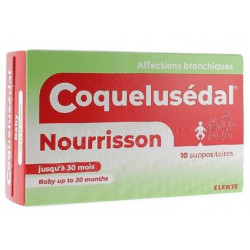 COQUELUSEDAL Nourrisson suppositoires