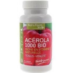 ACEROLA 1000 BIO 30 comprimés Nat&Form