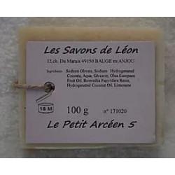 Savon artisanal à l'argile Les savons de Léon