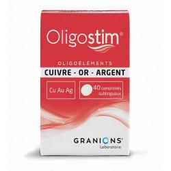 Cuivre Or Argent Oligostim  comprimés