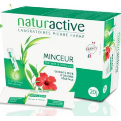 Minceur Fluide 20 sticks buvables Naturactive