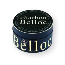 Charbon BELLOC 36 capsules boite métal