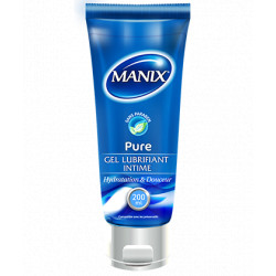 Gel Lubrifiant Manix Pure 200 ml