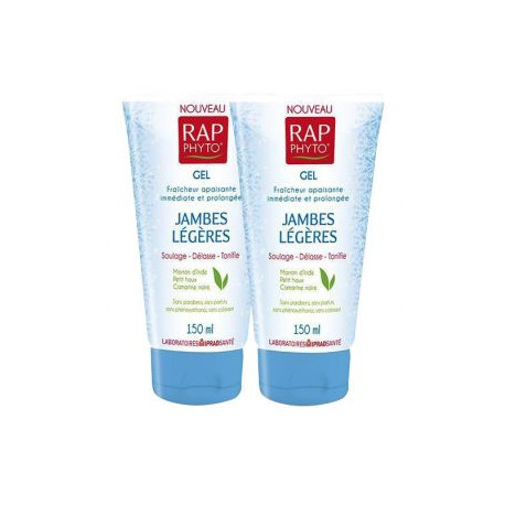 RAP Phyto jambes légères gel 2 tubes 150 ml