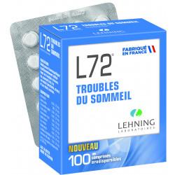 L72 Sommeil comprimés orodispersibles Lehning