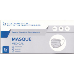 Masque Medical usage unique Boite de 50