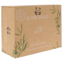 Mouchoirs boite 200 My Pure Bamboo