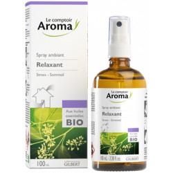 Spray ambiant Relaxant aux huiles essentielles Bio  Ressource