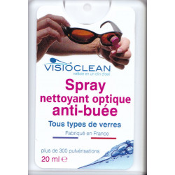 Visioclean spray nettoyant optique