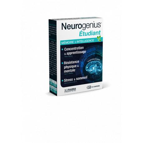 Neurogénius Etudiant 30 comprimés 3CPharma
