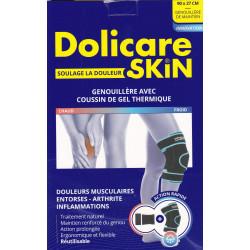 Genouillère avec coussin de gel thermique Dolicare Skin