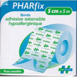 Sparadrap non tissé extensible Pharfix