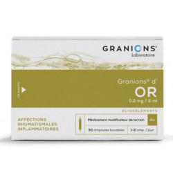 Granions d' OR 30 ampoules