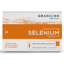 Granions de Selenium 30 ampoules