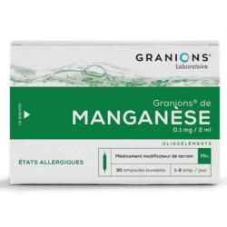 Granions Manganese 30 ampoules