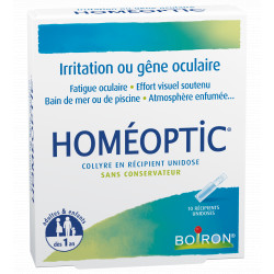 HOMEOPTIC collyre 10 unidoses