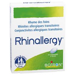 RHINALLERGY 40 comprimés à sucer Boiron