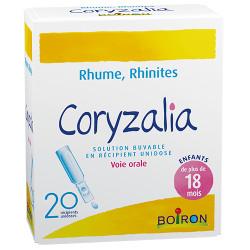 Coryzalia 20 unidoses Boiron
