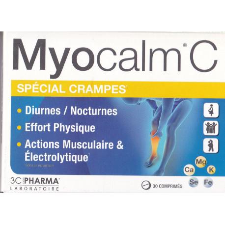 Myocalm C special crampes comprimé 3Cpharma