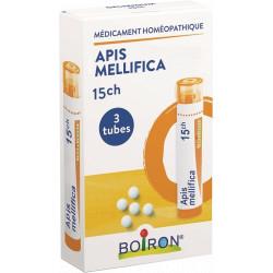 Apis mellifica 15 CH granules 3 Tubes Boiron