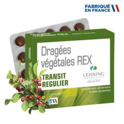 Dragées végétales REX Lehning
