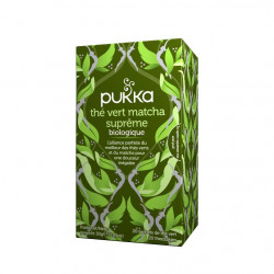 Thé vert matcha suprême Tisane Bio Pukka