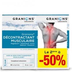 Granions décontractant musculaire comprimés