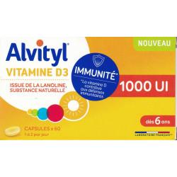 Vitamine D3 capsules Alvityl