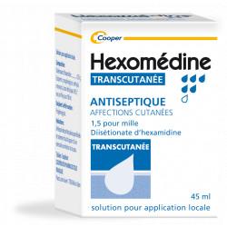 Hexomedine Transcutanée Solution 45 ml