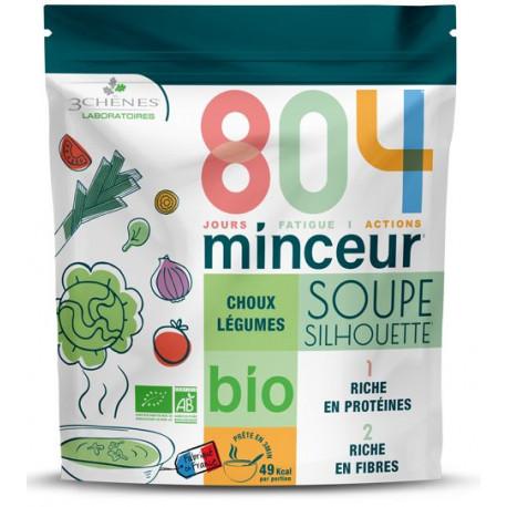 804 minceur soupe silhouette Choux légumes Les 3 chênes