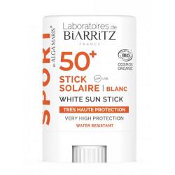 Alga maris Sport Stick solaire blanc 50+ Laboratoires de Biarritz