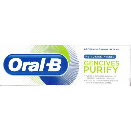 Oral B nettoyage intense gencives purify 75 ml