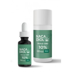 Huile CBD 10 % Nacadiol