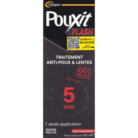 Pouxit Flash traitement anti poux et lentes