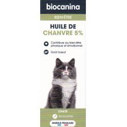 Huile de chanvre 5% Chat Biocanina
