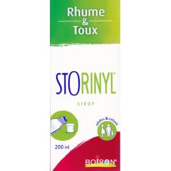 Storinyl sirop 200 ml Rhume et toux Boiron