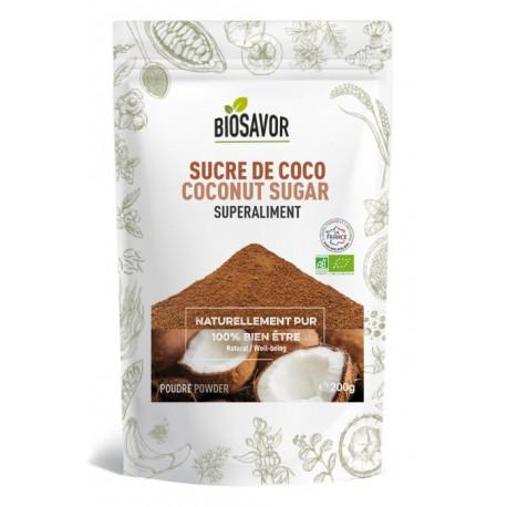 Sucre de coco Biosavor 200g