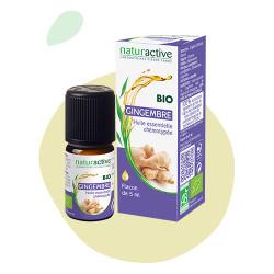 Gingembre Huile Essentielle Bio 5 ml Naturactive