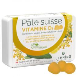 Pâte suisse vitamine D3 Lehning