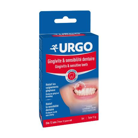 Gel gingivite et sensibilité dentaire 15g URGO