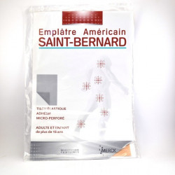Saint Bernard emplatre américain grand modèle 19 X 30 cm