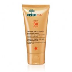 Crème solaire Visage SPF 30 Haute Protection Nuxe 50 ml