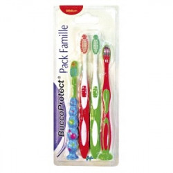 Brosses à dents pack de 4