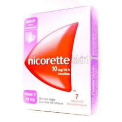 NICORETTE SKIN 10 mg/16h 7 dispositifs transdermiques